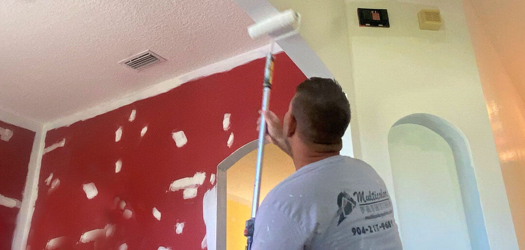 Painting the Ceiling and Attic